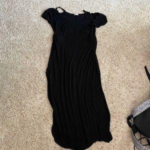 Black Maxi Dress!!